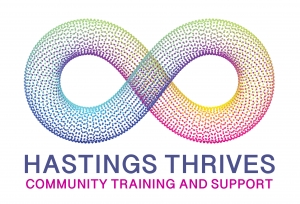 Hastings Thrives Community Training and support logo